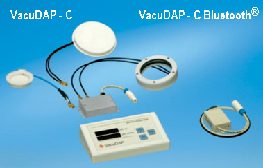 VacuDAP-C and VacuDAP - C Bluetooth® with display unit