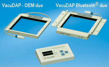 VacuDAP duo and VacuDAP Bluetooth® duo with display unit