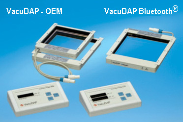 VacuDAP standard/fluoro/twin and VacuDAP Bluetooth